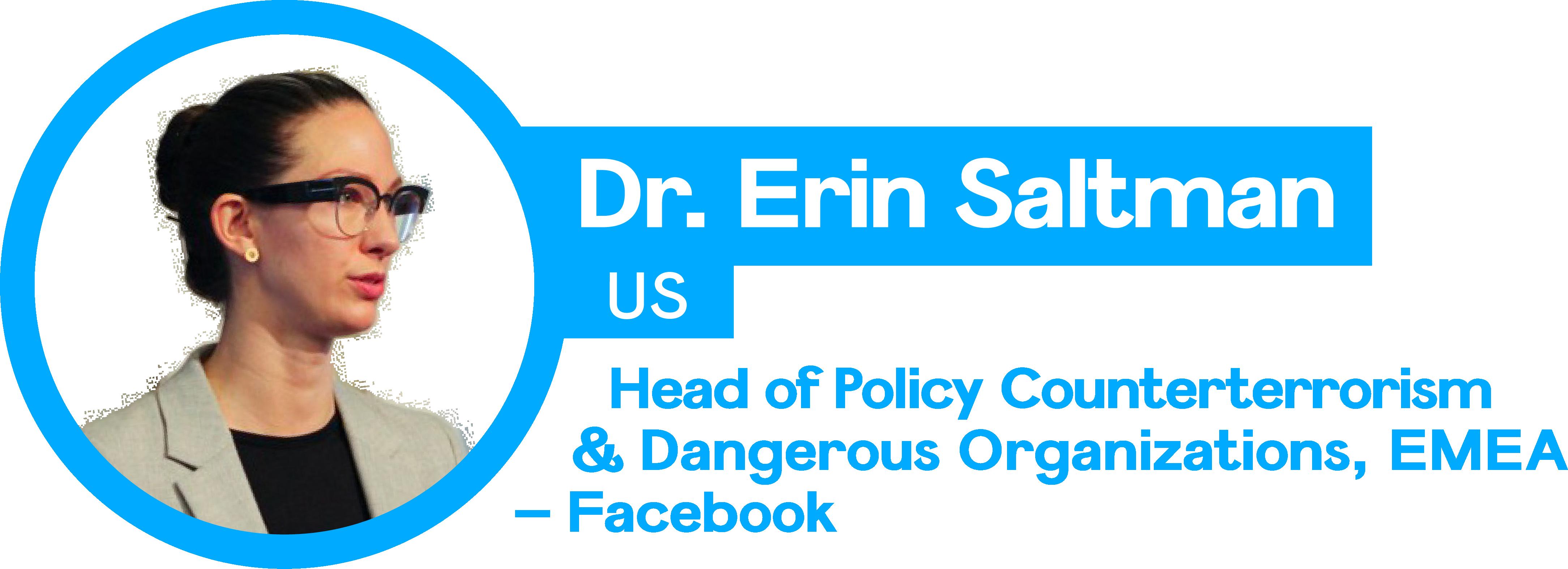 Dr. Erin Saltman